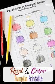 The noun for this unit is cat. Free Pumpkin Color Words Printable