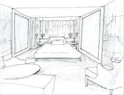 Bedroom Drawings Home Decor Medium Size Ideas About Interior Design