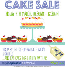 southern co op funeralcare in uckfield hosts scrumptious cake cake poster uckfield 20162