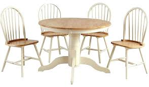 cream kitchen table and chairs oak and cream dining table and chairs round cream dining table