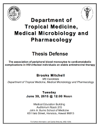 "brooks mitchell ms thesis defense ""the association of peripheral  brooks mitchell ms defense flyer"