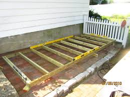 Stylish Ideas How To Build A Wood Patio Pleasing Wooden Build Wood how to  build a