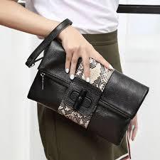 famous brands designer women hand bags genuine leather handbags female folded evening bag for las messenger