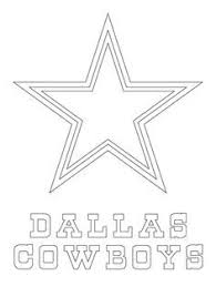 Dallas Cowboys Logo Coloring Page From Nfl Category Select From
