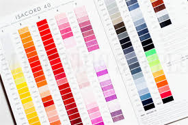 Isacord Color Chart Isacord Real Thread Polyester Color Chart