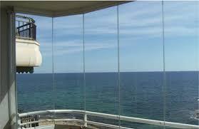 frameless glass window unobstructed seaviews