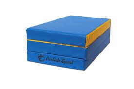 Складной <b>мат Perfetto sport №</b> 4, 100х150х10 см, сине/жёлтый ...