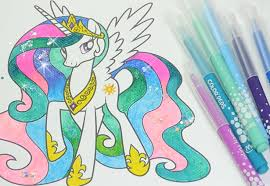 Small Picture MLP coloring book my little pony coloring pages for kids Princess
