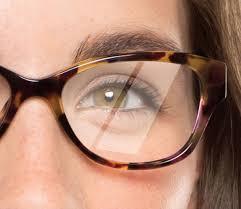 anti reflective coating on eyeglasses