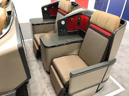 South African Airways New A330 300 Business Class Seat