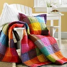 77 best Quilts that beg for Cherrywood images on Pinterest ... & solids quilt- love the colors - love the simple quilting. Adamdwight.com