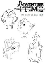 Small Picture Adventure Time Coloring Pages RA Stuff Pinterest Adventure
