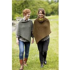 Poncho Patterns Classy Easy Folded Poncho Patterns The Fibre Studio At Yarns To Dye For