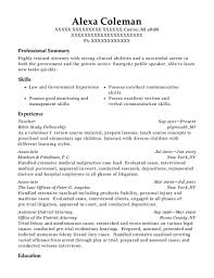 Assistant District Attorney Sample Resume Simple Best Assistant District Attorney Resumes ResumeHelp