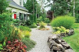 Gravel Garden Design Pict Impressive Decoration