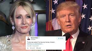 Jk Rowling Quotes Enchanting JK Rowling Has A Cutting Response To Trump's Quote About 'heroes'