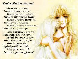Best Friend Poems Happy Birthday My Best Friend Poem My.