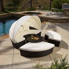 outdoor patio furniture sectional round