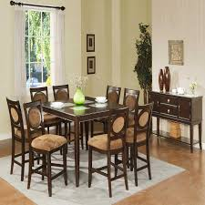 dining room charming dining room set for 8 with upholstered inspiration for leather dining room