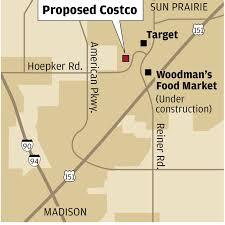 Costco Sun Prairie Costco Proposes Store In Sun Prairie Madison Wisconsin
