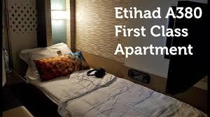 Best Flight Ever Etihad First Class Apartment A380