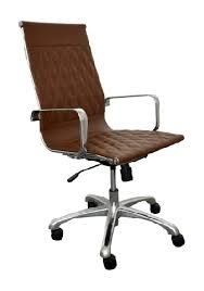 annie high back brown leather executive conference chair by woodstock brown leather office chair