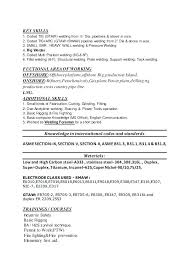 Welding Resume Examples Best Welding Resume Examples Welder Resume Objective To Resume Examples