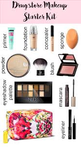 basic makeup kit. drugstore makeup starter kit basic