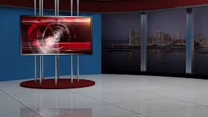 tv studio furniture. News TV Studio Set 137 - Virtual Green Screen Background Loop Stock Video Footage Videoblocks Tv Furniture