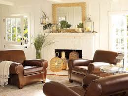 Pottery Barn Living Room Designs Living Rooms With Leather Furniture Decorating Ideas Living Room
