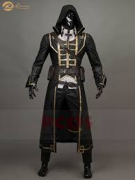 Procosplay Size Chart Us 154 0 Procosplay Dishonored 2 Corvo Attano Cosplay Costume Charming Leather Outfit Costumes Mp004276 In Game Costumes From Novelty Special Use