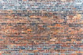 old red brick wall texture grunge background stock image