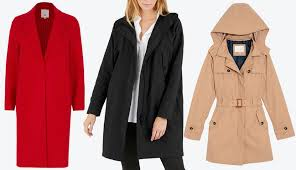 river island red tailored coat everlane s city anorak women s hooded trench coat a