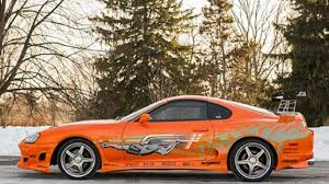 Paul Walker's Toyota Supra from Fast and Furious fetches $185,000 ...