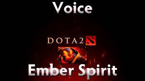dota 2 sounds ember spirit youtube