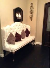 tufted dining bench with back diy tufted high back dining bench diy banquette tutorial
