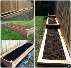 diy modern raised garden bed novocom top