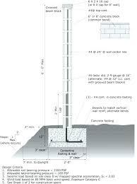 concrete block retaining wall design design of masonry wall masonry block wall design masonry block wall concrete block retaining