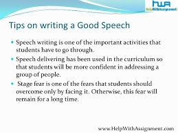 tips for writing a good persuasive tips for writing a good persuasive speech