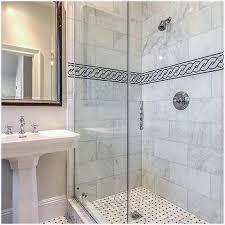 mosaic shower floor tile black and white mosaic marble shower tiles design ideas