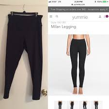 Nwot Yummie Tummie Milan Leggings