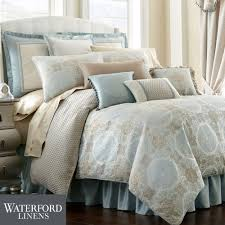 jonet medallion comforter bedding by waterford linens waterford sheets