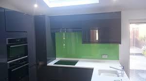 Coloured Glass Splashbacks Colour  Glass - Bathroom splashback