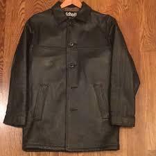 schott n y c men s leather car coat m 5acc0c0c84b5ce88fc60e6fb