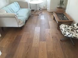 Rustic Wood Flooring Extra Rustic Smoked Engineered Real Wood Floor Click Sytem 190mm
