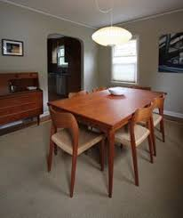 danish modern dining room set. Fine Set Danish Modern Teak Dining Room To Room Set M