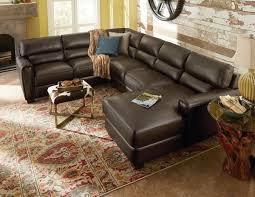 Lazy Boy Living Room Furniture Furniture Brody Three Piece Leather Lazy Boy Sectional Sofas For