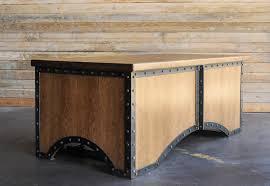 Industrial furniture table Rectangular Industrialfurniturecom Chairman Desk Vintage Industrial Furniture