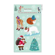 Weihnachtsanhänger Mit Winter Tieren
