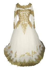 Rush Order Tees Size Chart Tbgirl Luxury Gold Colored Appliques Long Sleeve Organza Corset Wedding Dress